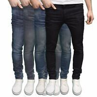 AFS Flex Men's Designer Skinny Fit Stretch Jeans Available 4 Colours. BNWT