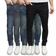 AFS Flex Mens Designer Branded Skinny Fit Stretch Jeans Available 4 Colours BNWT