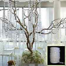 10M Garland Diamond Strand Acrylic Crystal Bead Curtain Chain Wedding Decor