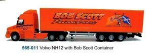CARARAMA VOLVO NH12 CARGO BOB SCOTT 1 50 SCALE DIECAST MODEL. NEW