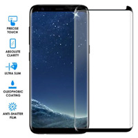 4D Curved Full Tempered Glass For Samsung Galaxy S8 S9 Plus Screen Protector