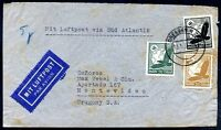 GERMANY TO URUGUAY Air Mail Cover 1933, NICE!
