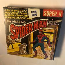 Super 8mm The Amazing Spiderman Origin Of Spiderman SEALED 1976