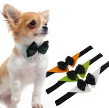 Cute Gentleman Pet Dog Bow Tie Collars Clothes Shirt Accessory Wedding Parties