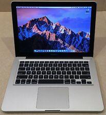 "CUSTOM 13"" APPLE MACBOOK PRO LAPTOP CORE I7 2.7GHZ 480G SSD 16GB DVD BT NEW BATT"
