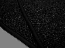 Kompl. Teppichsatz Mercedes R107 SL ohne Notsitze Schlinge Schwarz