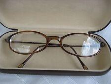 safilo elasta brown plastic frame eyeglasses