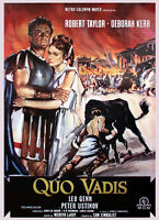 Quo Vadis Poster mit Gratisposter Plakat Wandbild Wanddeko Dekoration Deko