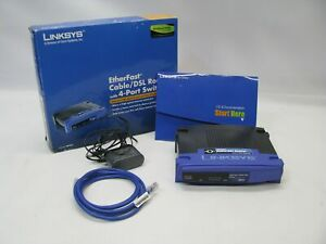 Linksys BEFSR41 EtherFast Cable/DSL Router w/4-Port Switch