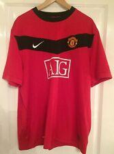 2009-2010 Manchester United Home Football Shirt AIG #10 Wayne Rooney Adult XXL