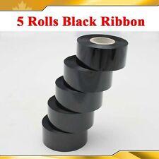 5 Rolls Black 1.18x3936