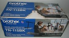 Brother TN-115BK High Yield Black Color Toner Cartridge HL-4040CN,DCP-9840CDW