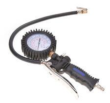 Reifenfüller mit Manometer Reifen-Druck-Messgerät Reifenmesser Reifenprüfer