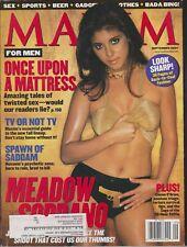 MAXIM Magazine #45 SEPTEMBER 2001-A - JAMIE-LYNN SIGLER DENISE FAYE COLLEEN RUSH