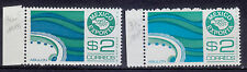 Mexico Exporta Abalone,#1117,1117a PAPER 5.fluorescence frt. gum white.Mint NH