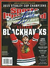 Jonathan Toews signed Chicago Blackhawks Sports Illustrated w/Coa Proof Rare