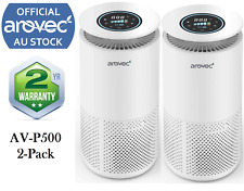 Air Purifier Smart True HEPA Home Dust Smoke Cooking Smell Cleaner Fresh Arovec