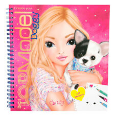 Depesche TOPModel Doggy Colouring Book NEW
