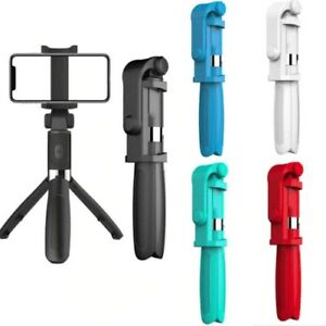 Bluetooth Remote Control Selfie Stick Phone Holder Extendable Shutter For Phones
