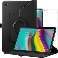 For Samsung Galaxy Tab S5e Case 360 Stand Cover & Glass Protector T720/T725