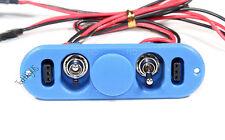 Heavy Duty RX Dual On/Off Switch W/ 4-Cable Lock, RC Servo, Engine  US 022-03301