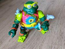 TMNT - Vintage - Sewer Surfing Michelangelo - Playmates toys- Tortues Ninja 1990