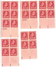 1940 2c US Postage Stamps Scott 865 John Greenleaf Whittier Lot of 22