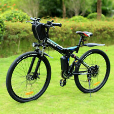 E-Bike Mountainbike,26''Elektrofahrrad Faltrad Fahrrad 250W Citybike 36V Pedelec