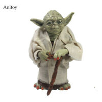Star Wars Yoda Figure Jedi Knight Master Action Figure Collectible New Model Toy