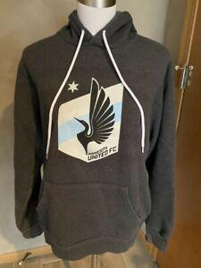 EUC Minnesota MN United FC Loons Hoodie Soccer Sweatshirt Adult Medium M