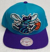 Retro Charlotte Hornets Mitchell & Ness Hardcourt Classic Wool Snapback Hat NBA