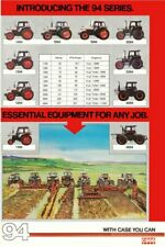 Case 94 Series David Brown Collection Range Tractor Poster Brochure Very Rare A3