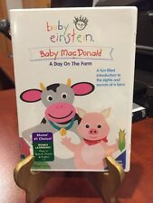 Baby Einstein: Baby MacDonald: A Day on the Farm (DVD, 2004) Mfg. Sealed