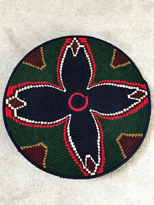 Boho Decor African Wall Hanging / Handcrafted Decor | Woven Plate