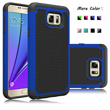 For Samsung Galaxy Note 5 Phone Case Shockproof Hybrid Armor Rubber Hard Cover