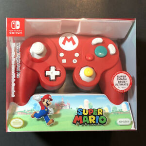 PDP Wired Fight Pad Pro Mario Red Edition for Nintendo Switch NEW
