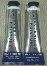 Bath & Body Works~*Overnight Moisture*~Hand Creams~Set of 2~NEW~Limited Edition