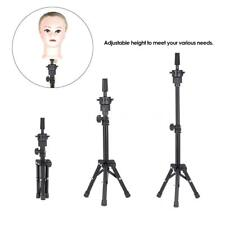 New Adjustable Hairdressing Tripod Hair Training Mannequin Holder Wig Stand D3N2