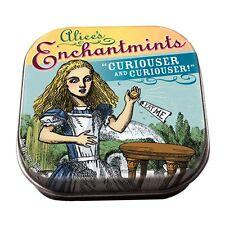 Oficial Alice In Wonderland Lata Mentas enchantmints-Pequeño Lindo temática En Caja