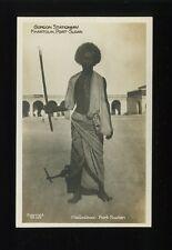 East Africa Hadadaoui tribesman ethnic c1920/30s? RP PPC