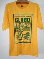 T-SHIRT - BISCOITO GLOBO COOKIES - RIO DE JANEIRO COPACABANA BEACH BRAZIL