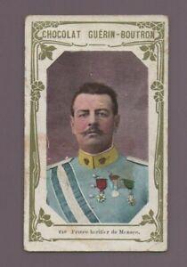 Kitschbild Schokolade Guérin Boutron 640 - Fürsten- Erbe von Monaco (K8414)
