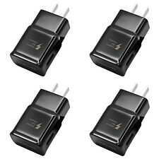 4x OEM Samsung USB Wall Charger Adaptive Fast Charging For Galaxy S9 S8 Note 8 9