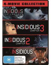 The Insidious / Insidious - Chapter 2 / Insidious - Chapter 3 / Insidious - Last Key (DVD, 2018, 4-Disc Set)