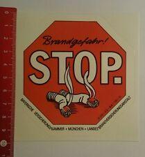 Aufkleber/Sticker: Bayerische Versicherungskammer München Brandgefahr (06081681)