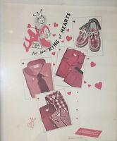 VINTAGE ROSENBLATTS DEPT. STORE ADVERTISING POSTER Portland Oregon Menswear