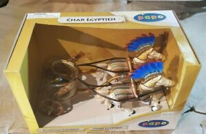 PAPO Egyptian Chariot and Horses - 2009 ~ Hard To Find!