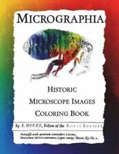 Micrographia: Historic Microscope Images Coloring Book (Paperback or Softback)