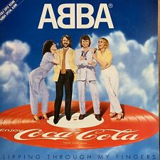 "ABBA SLIPPING THROUGH MY FINGERS COCA COLA JAPAN - VINYL 12"" LP"
