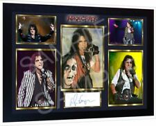 Alice Cooper signed autograph Music pre-print poster photo Framed